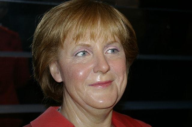 Angela Merkel Madame Tussauds i London