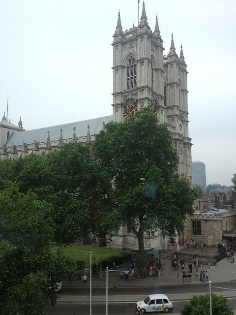 Westminister Abbey i London